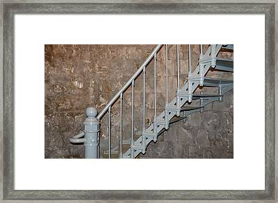 69 Steps Framed Print