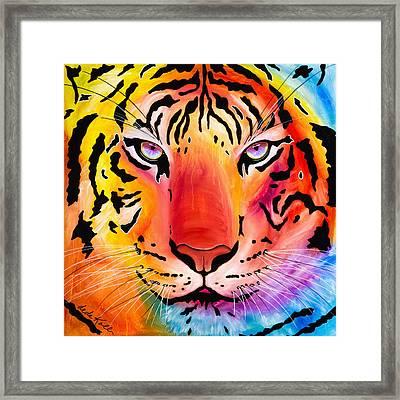 6983 Tiger Framed Print