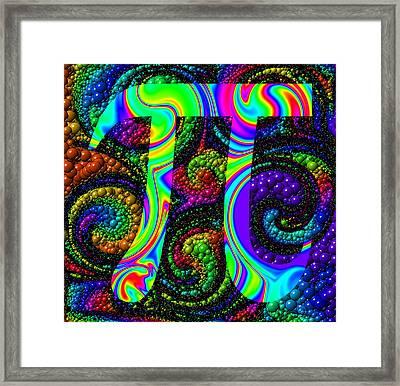 6Pi Framed Print by Ron Hedges