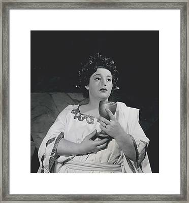 A Roman Scandal In A West End Revue Framed Print by Retro Images Archive