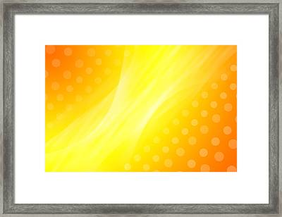 Abstract  Framed Print by Les Cunliffe