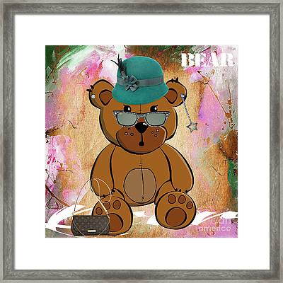 Baby Bear Collection Framed Print by Marvin Blaine
