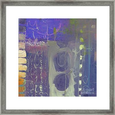 Background Art Framed Print by Marvin Blaine