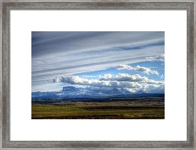 Banff Alberta Canada Framed Print by Paul James Bannerman