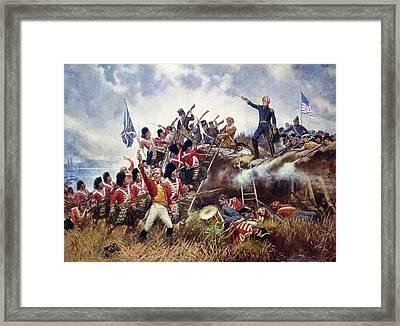 Battle Of New Orleans, 1815 Framed Print