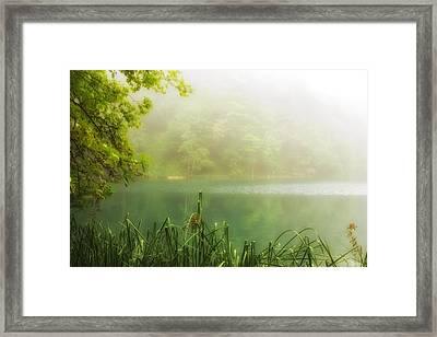 Beautiful Lake Framed Print