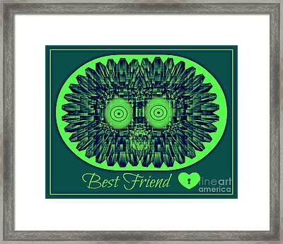 Best Friends Framed Print by Meiers Daniel
