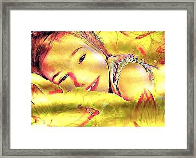 7 Framed Print
