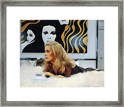 Catherine Deneuve Framed Print