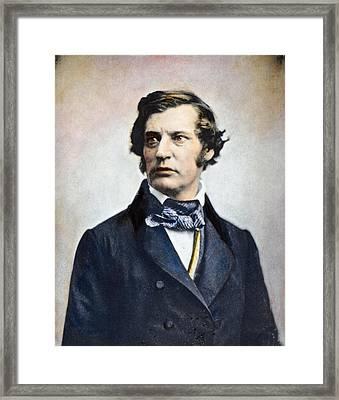 Charles Sumner (1811-1874) Framed Print