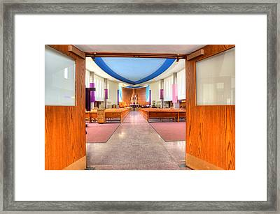 Church Of Saint Columba Framed Print by Amanda Stadther