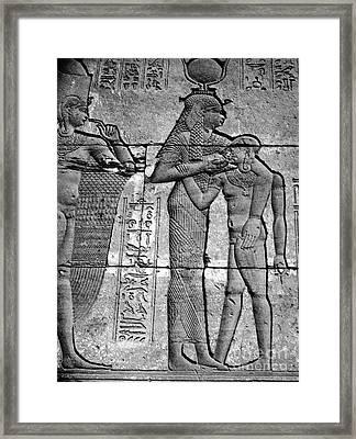 Cleopatra Vii (69-30 B.c.) Framed Print