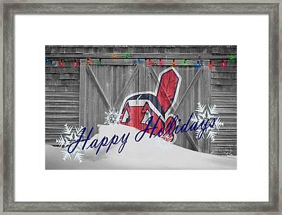 Cleveland Indians Framed Print