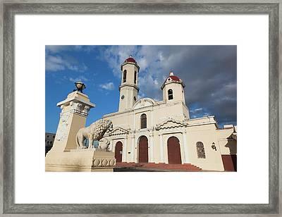 Cuba, Cienfuegos Province, Cienfuegos Framed Print