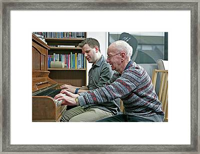 Dementia Resource Centre Framed Print by Lewis Houghton/science Photo Library