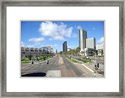 Digital Art Framed Print by JJ Cross