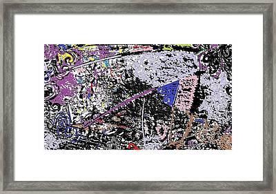 Digital Framed Print by HollyWood Creation By linda zanini
