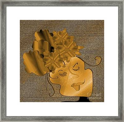 Dream Framed Print by Iris Gelbart