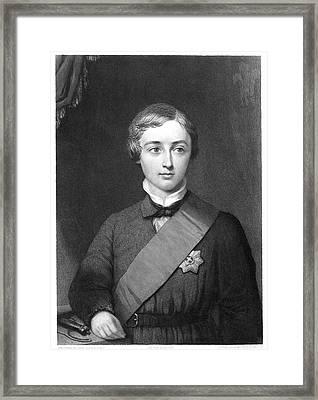 Edward Vii (1841-1910) Framed Print