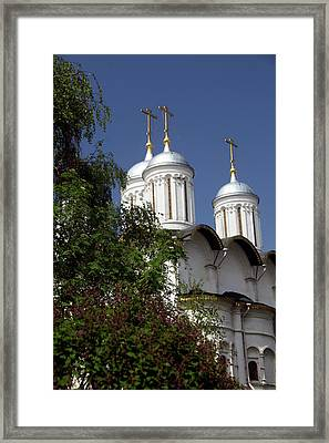 Europe, Russia, Moscow Framed Print