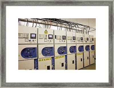 European Marine Energy Centre Framed Print by Ashley Cooper