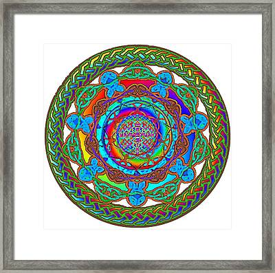 7 Fish Rainbow Yahushuah Messiah Framed Print