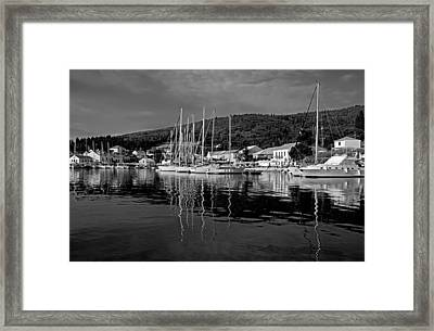 Fiskardo Village Framed Print by George Atsametakis