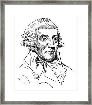 Franz Joseph Haydn (1732-1809) Framed Print by Granger