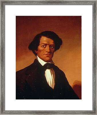Frederick Douglass (c1817-1895) Framed Print by Granger