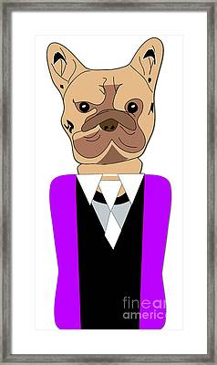 French Bulldog Painting Framed Print by Marvin Blaine