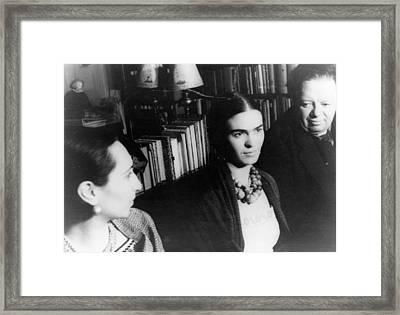 Frida Kahlo (1907-1954) Framed Print