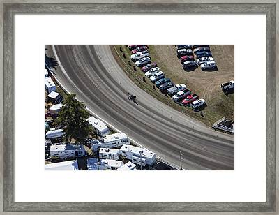 Fryeburg Fair, Maine Me Framed Print by Dave Cleaveland
