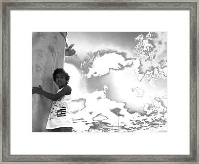 Future Framed Print by Beto Machado