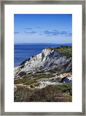 Gay Head Cliffs Framed Print by John Greim