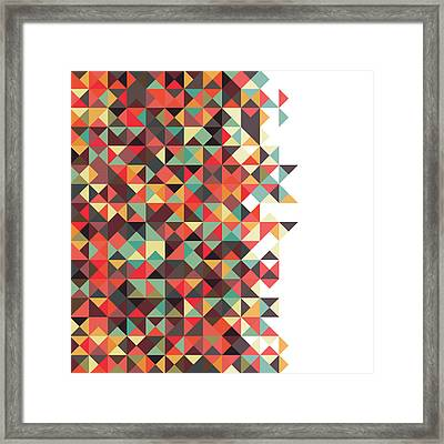 Geometric Art Framed Print