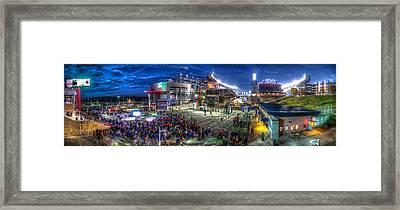 Gillette Stadium Framed Print