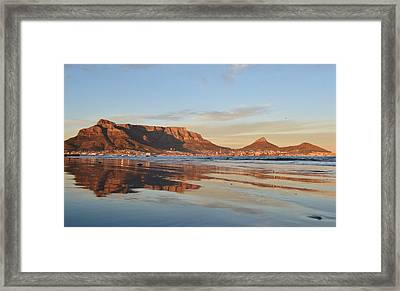 Good Morning Cape Town Framed Print