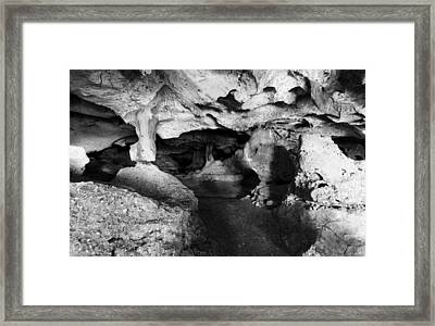 Green Grotto Caves Framed Print by Bill Howard