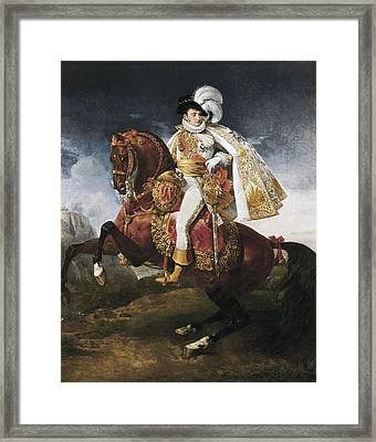 Gros, Antoine Jean, Baron 1771-1835 Framed Print
