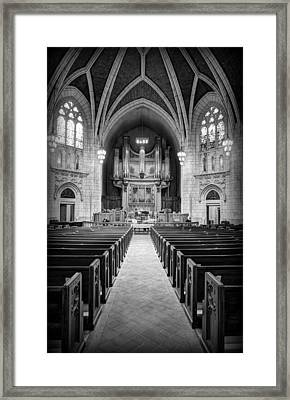 Hennepin Avenue Methodist Church Framed Print by Amanda Stadther