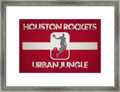 Houston Rockets Framed Print