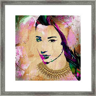 Iggy Azalea Collection Framed Print by Marvin Blaine