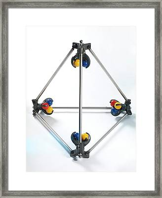 Instrumentation Measurement Standard Framed Print by Andrew Brookes, National Physical Laboratory