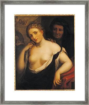 Italy, Lazio, Rome, National Academy Framed Print by Everett