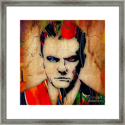 James Cagney Collection Framed Print by Marvin Blaine