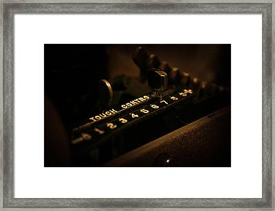 Framed Print featuring the photograph 7 by Joel Loftus