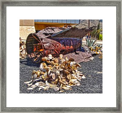 John P. Stapp Air And Space Park  Framed Print by Gregory Dyer