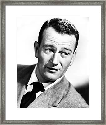 John Wayne Framed Print by Retro Images Archive
