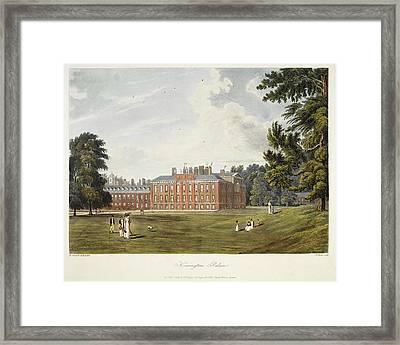 Kensington Palace Framed Print