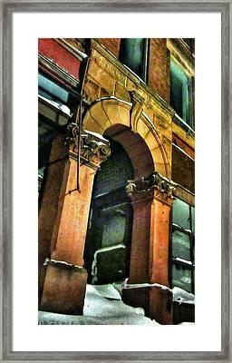 Battered Soul Framed Print by Scott Wendt Tom Wierciak
